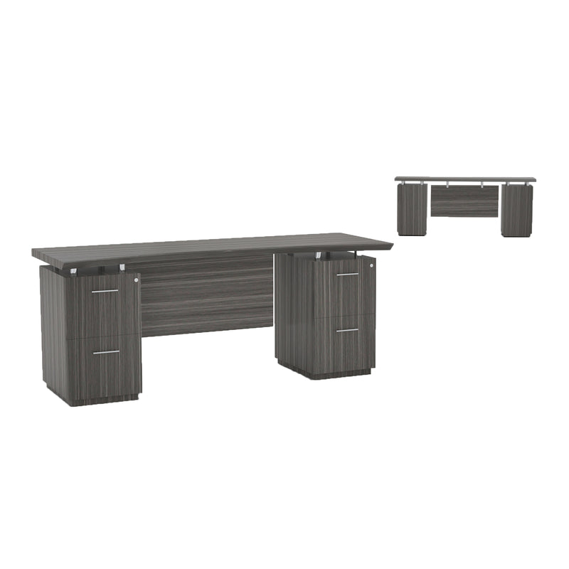 "Sterling 72"" Credenza, 2 F/F Pedestals - Acorn Office Products"