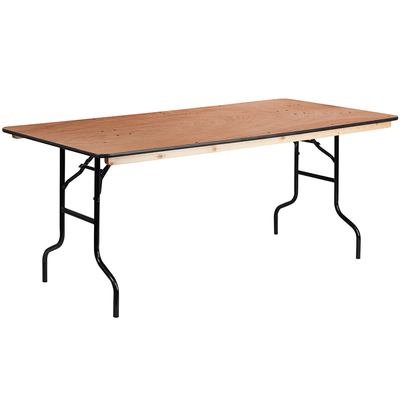 30x72 Wood Fold Table