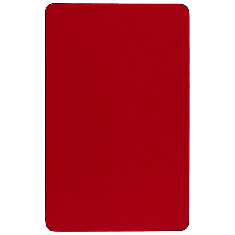 36x72 REC Red Activity Table