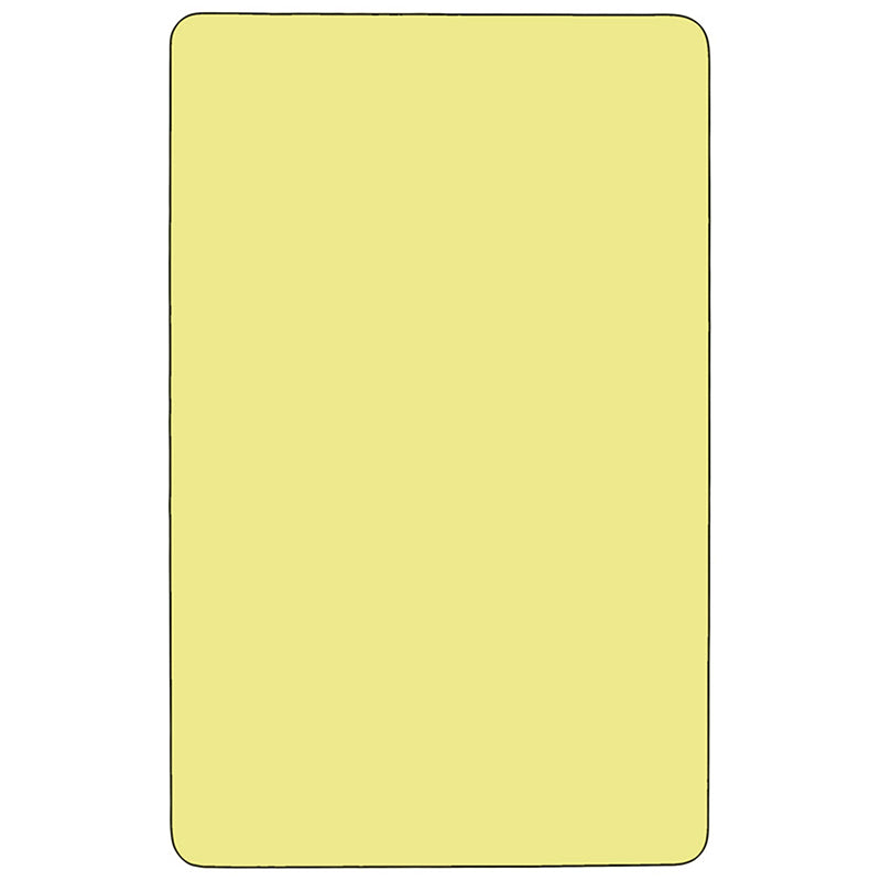 36x72 Yellow Activity Table
