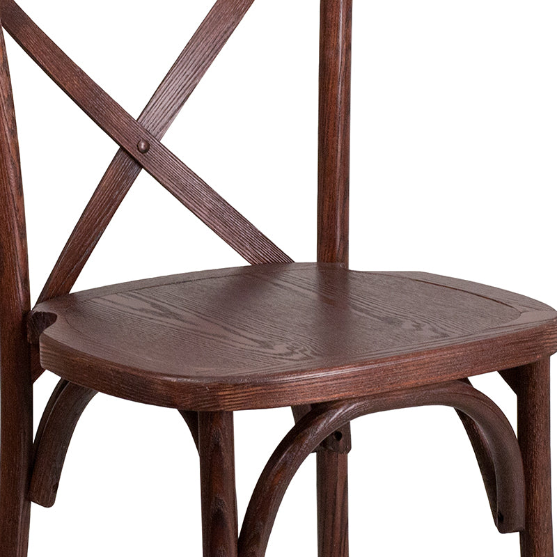 Mahogany Cross Back Chair