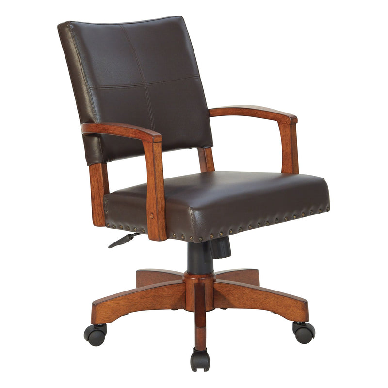 Deluxe Wood Bankers Chair