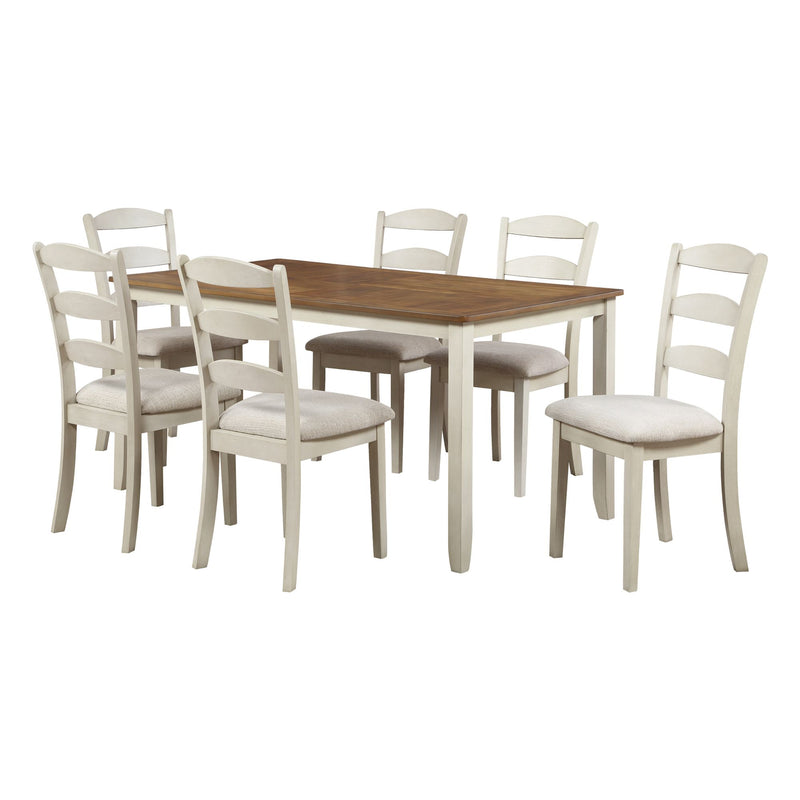 West Lake Dining Table Set 7-Pc - Acorn Office Products