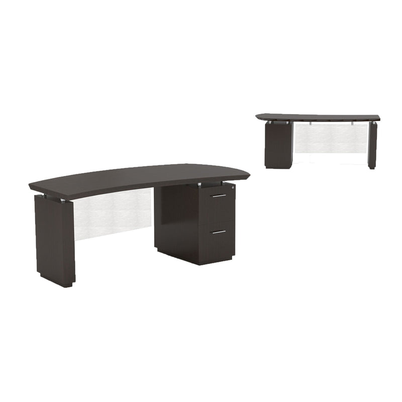 "Sterling 72"" Right Handed Desk, 1 F/F Pedestal - Acorn Office Products"
