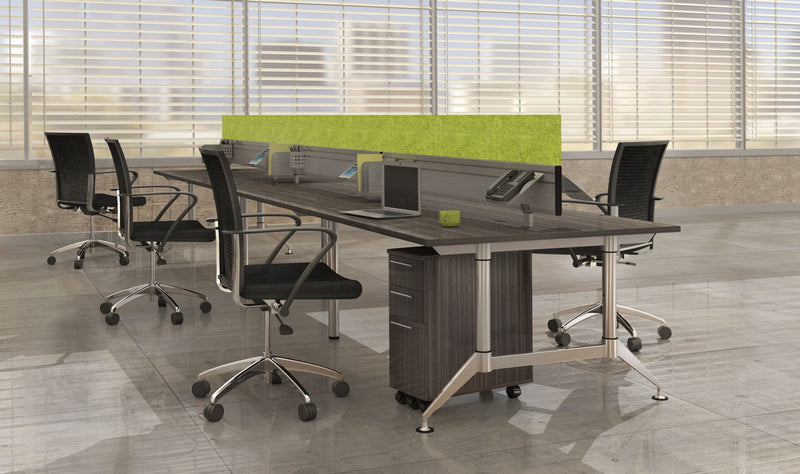 "EVEN™ Dual-Sided Workstation, 60"" D x 144"" W"