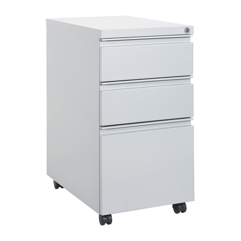 "22"" Closed Top Mobil Pedestal - Acorn Office Products - Office Star"