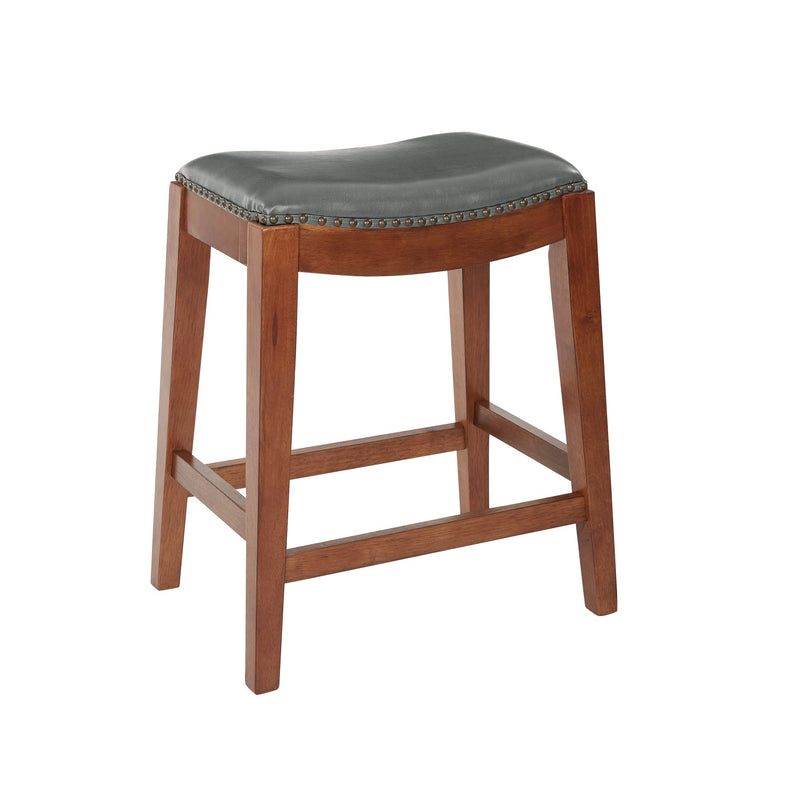"Metro 24"" Saddle Stool"