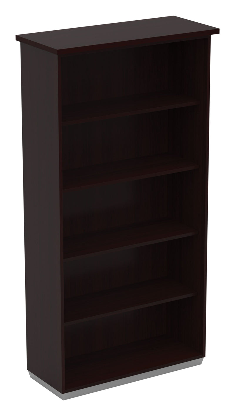 Tuxedo 5-Shelf Bookcase - Acorn Office Products