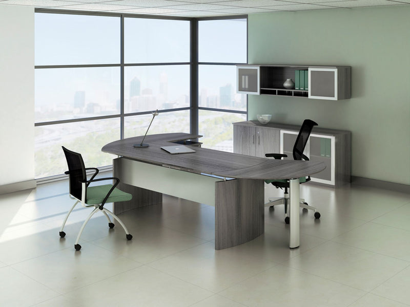 Medina™ Curved Desk Extension, Right