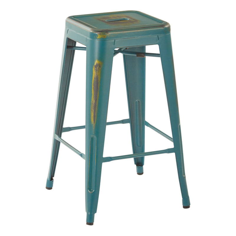 "Bristow 26"" Antique Metal Barstools - Acorn Office Products - Office Star"