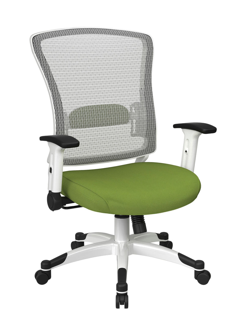 White Frame Managers Chair - Acorn Office Products
