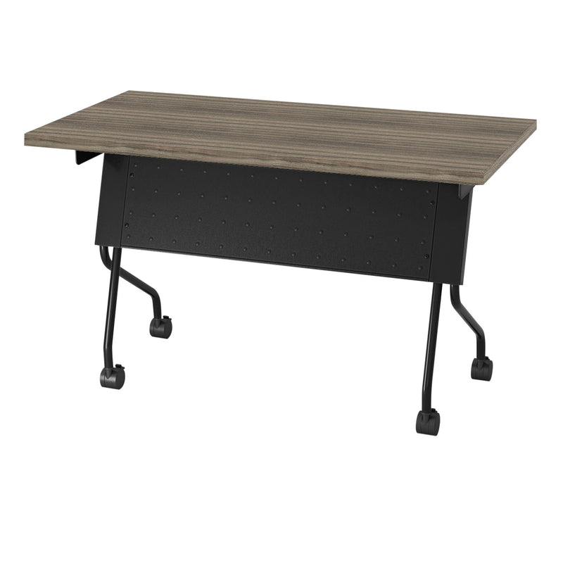 4' Black Frame With Urban Walnut Top - Acorn Office Products - Office Star