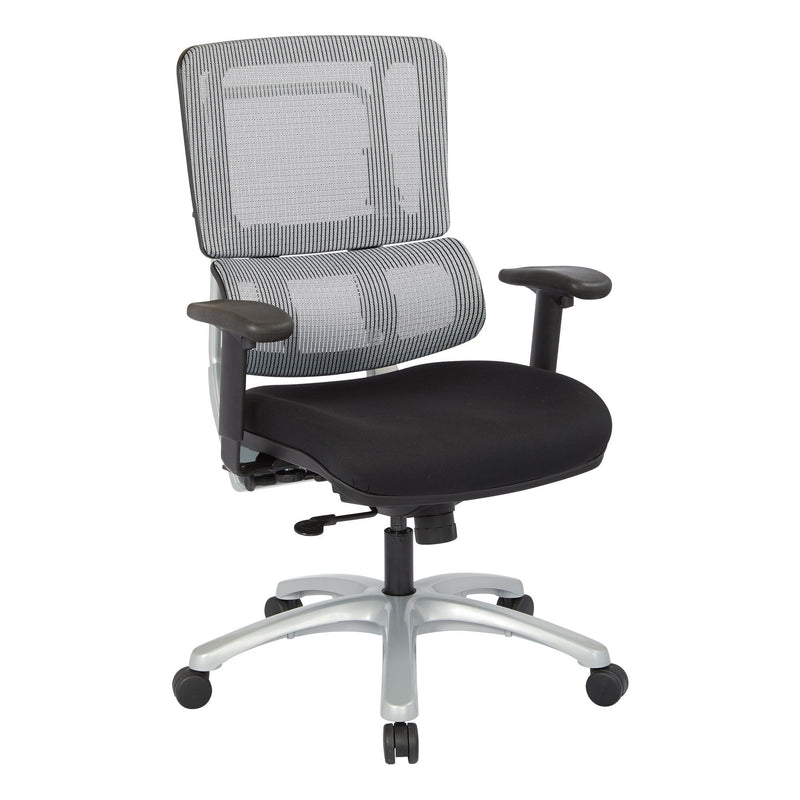 Vertical Grey Mesh Back Chair - Acorn Office Products