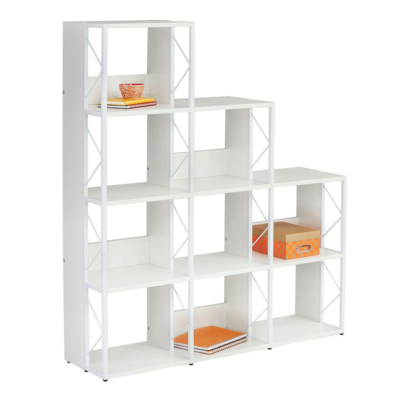 SOHO Multi-Height Bookcase, 9 Shelves