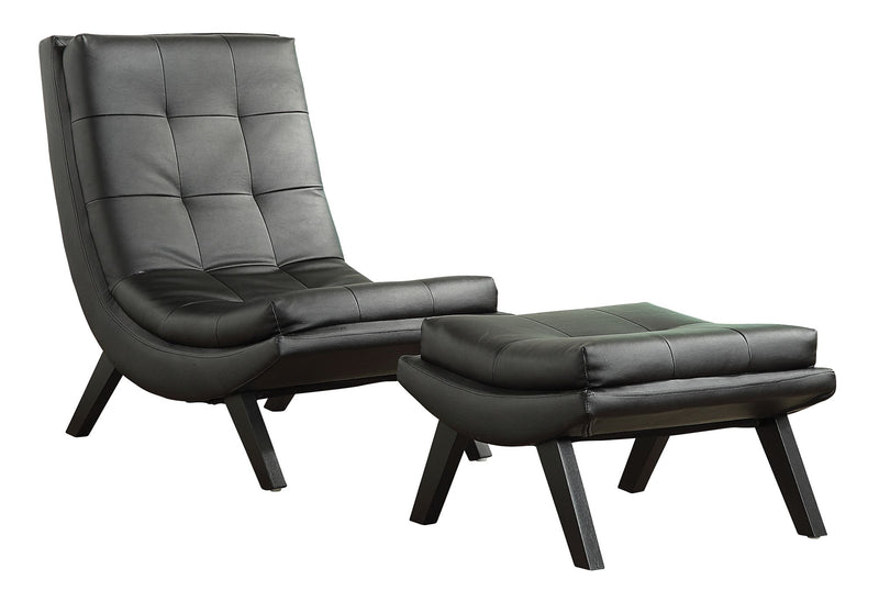 Tustin Lounge Chair and Ottoman Set - Acorn Office Products