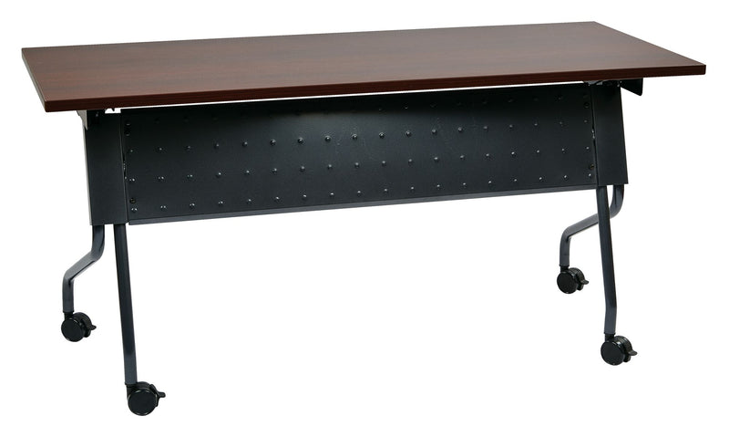 5' Titanium Frame With Mahogany Top - Acorn Office Products - Office Star