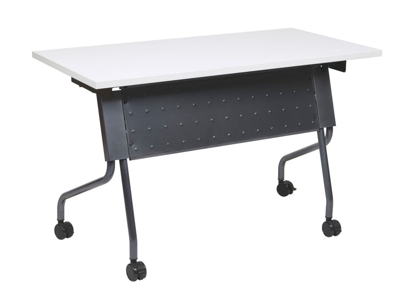 4' Titanium Frame With Grey Top - Acorn Office Products - Office Star