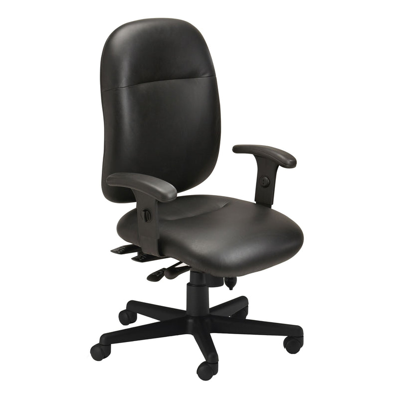 Comfort Series Big & Tall 24-Hour High Performance Chair, Leather - Acorn Office Products - Safco Products