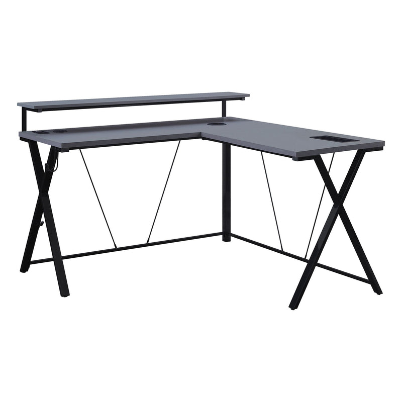 Checkpoint L Shape Gaming Desk - Acorn Office Products - Office Star