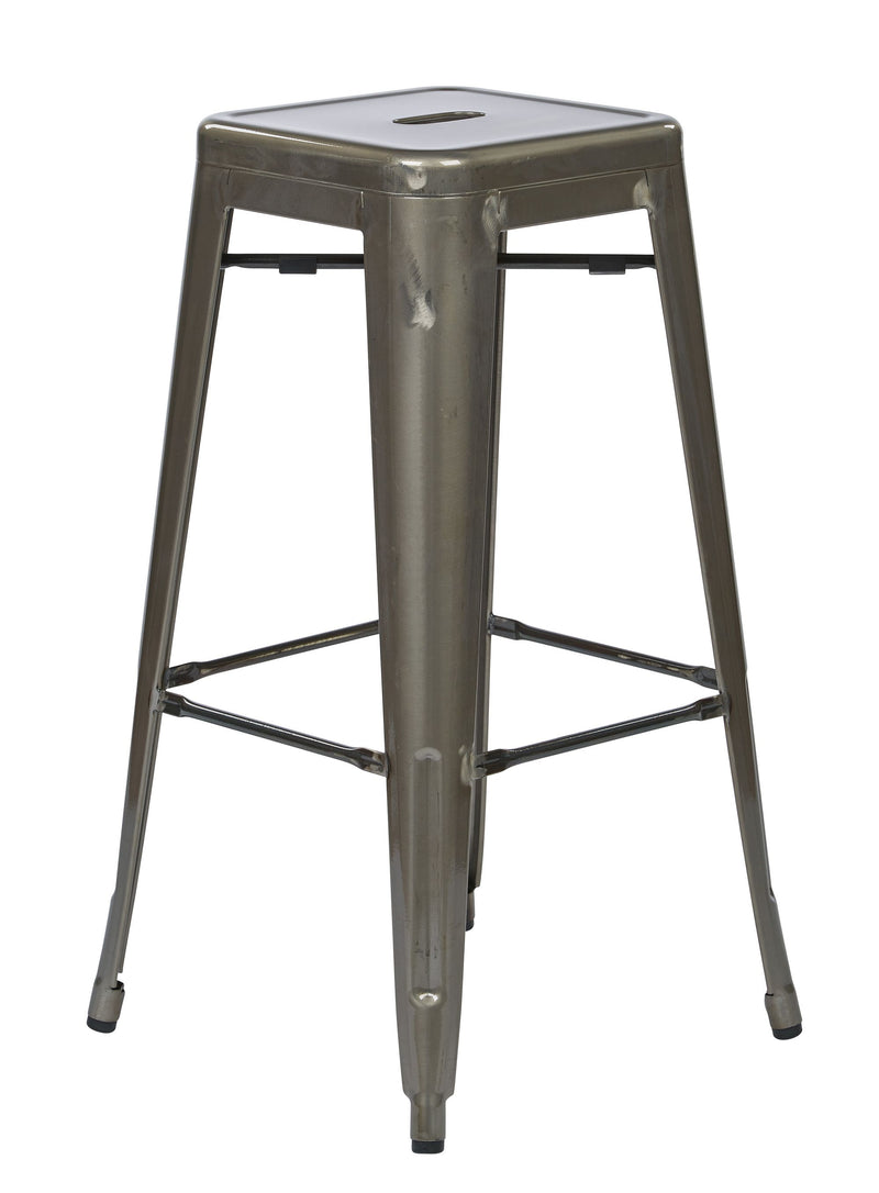 "Bristow 30"" Antique Metal Barstool - Acorn Office Products - Office Star"