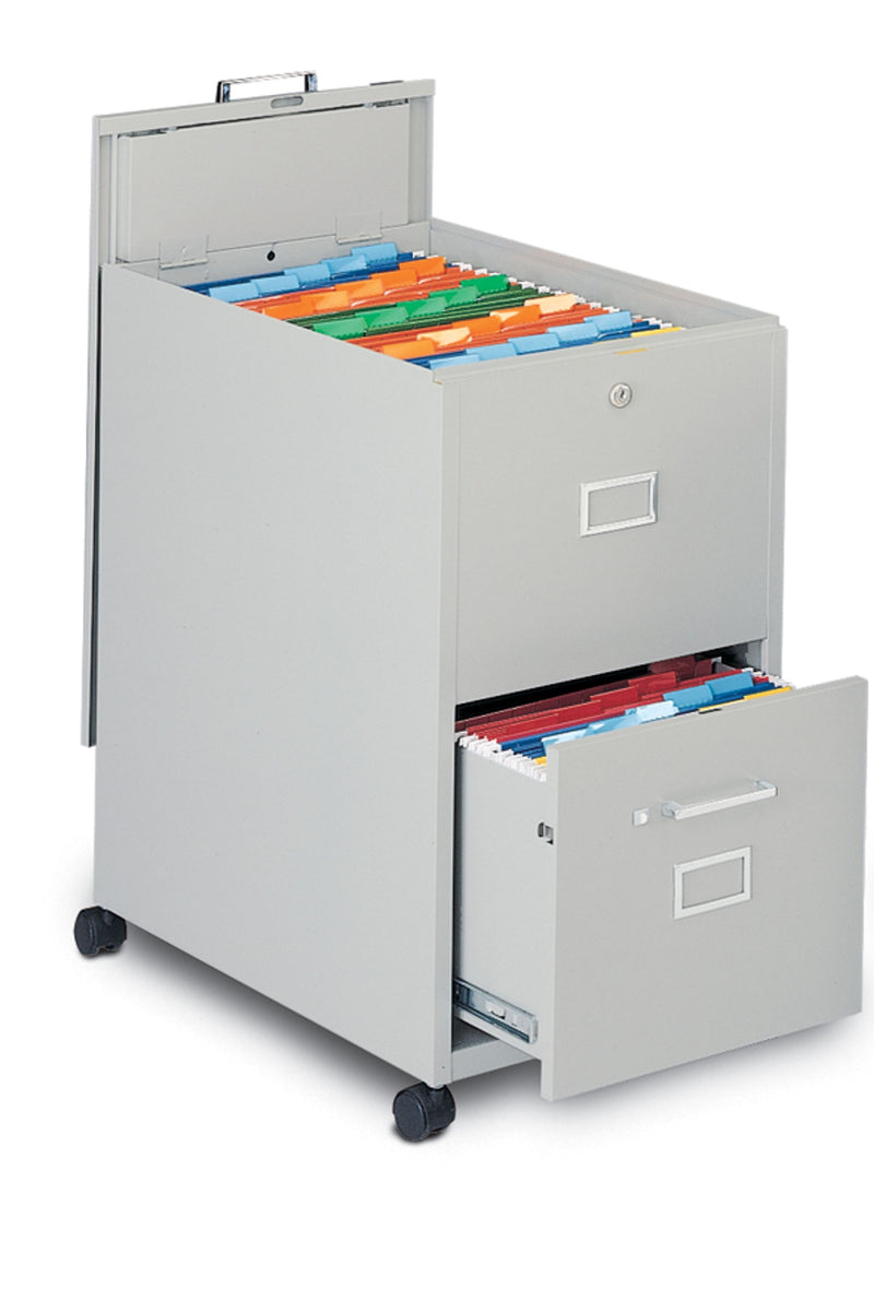 Mobilizers™ Letter Size File with Lid and Drawer