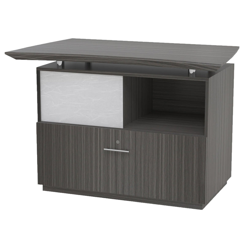 Sterling Single Lateral File with Acrylic Door - Acorn Office Products