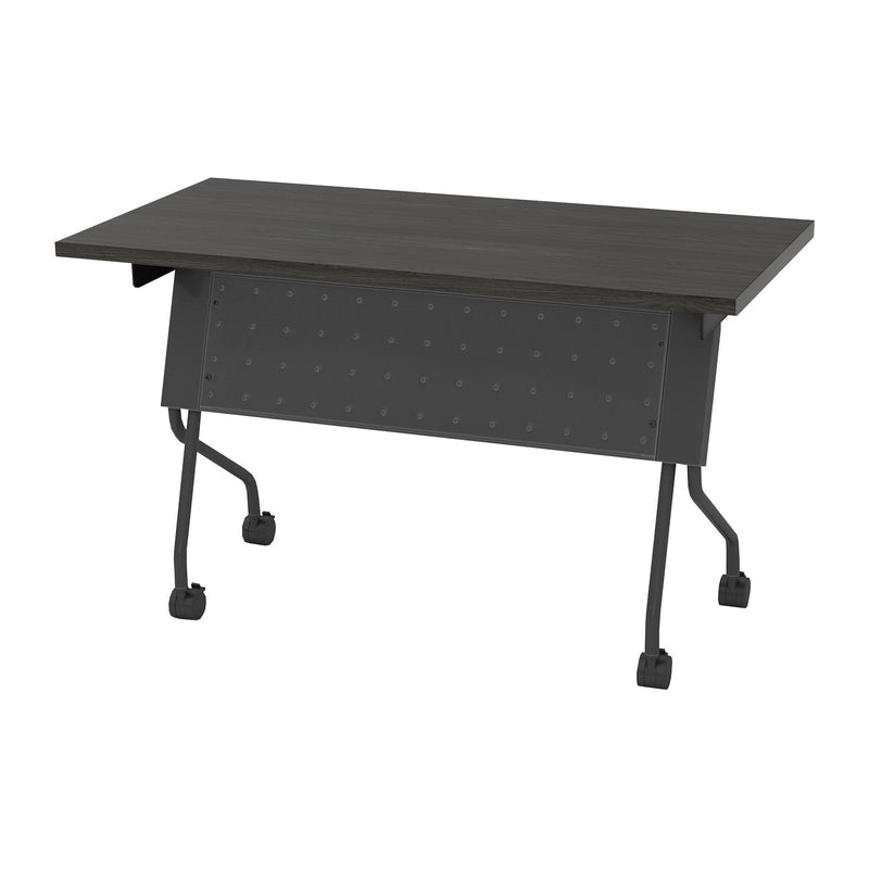 4' Titanium Frame with Slate Grey Top - Acorn Office Products - Office Star