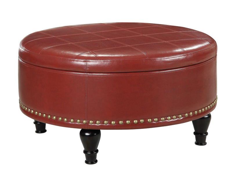 Augusta storage Ottoman - Acorn Office Products - Office Star