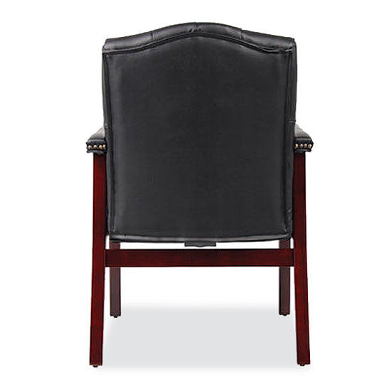 Guest Chair with Mahogany Frame