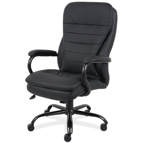 Big and Tall Executive High Back with Black Frame - Acorn Office Products - Office Source