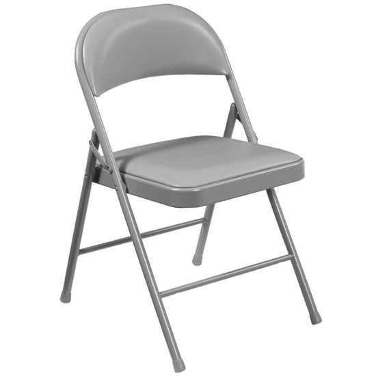 Steel Folding Chair with Padded Seat and Back - Acorn Office Products
