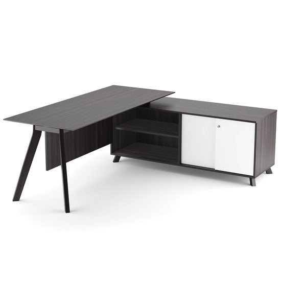 63'' Open Side Return - Acorn Office Products - Office Source