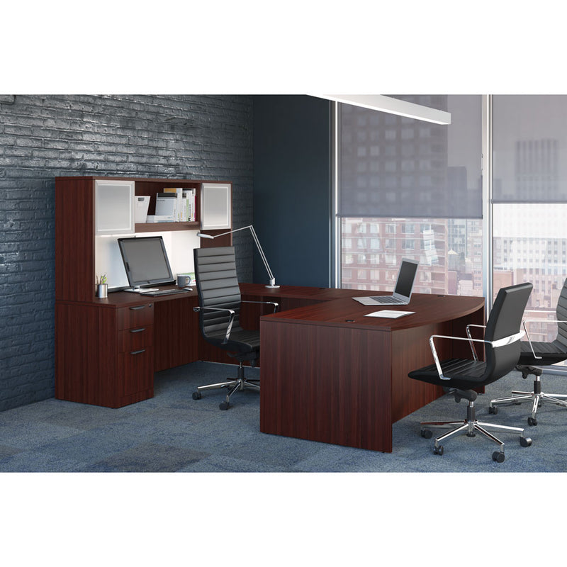 Credenza with Right Corner Extension - Acorn Office Products - Office Source
