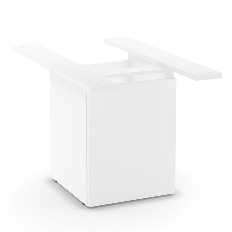 Board Table Cube Base With Access Door - Acorn Office Products - Office Source