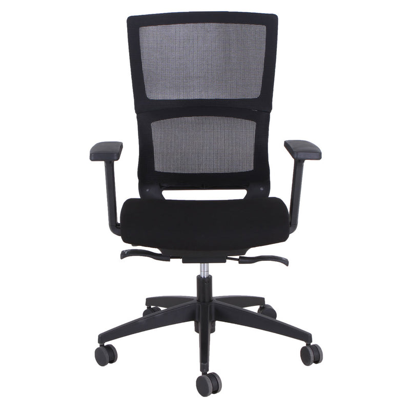 High Back, Mesh Task Chair with Black Frame