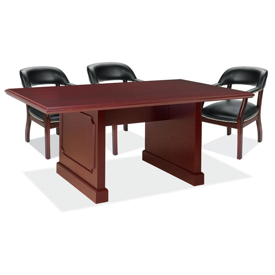 8' Rectangular Table with Panel Base - Acorn Office Products - Office Source