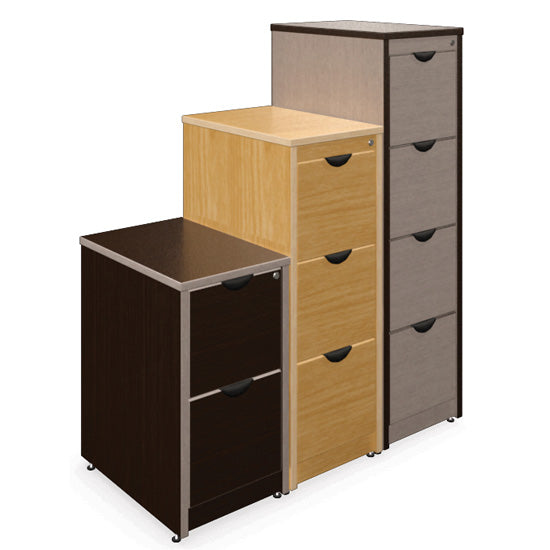 4 Drawer Legal with Lock - Acorn Office Products - Candex Custom Furniture
