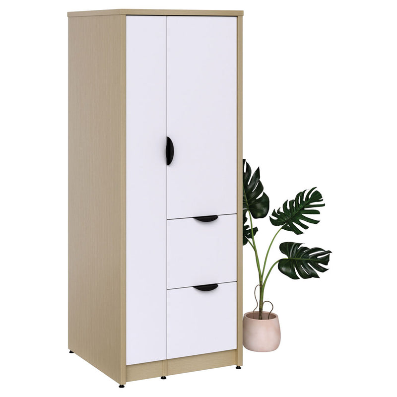 Storage Wardrobe with Dual File Storage - Acorn Office Products