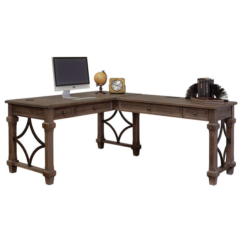 Right Return Open Desk