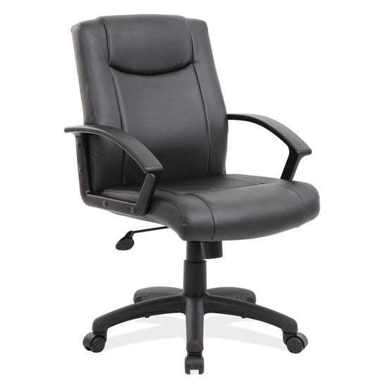 Executive Mid Back with Black Frame