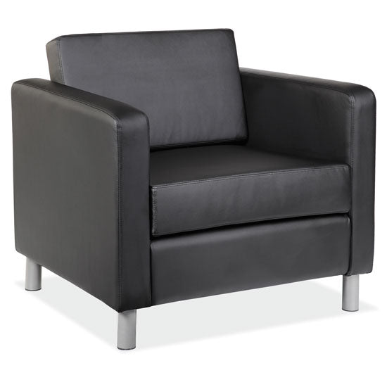 Contemporary Club Chair - Acorn Office Products - Office Source