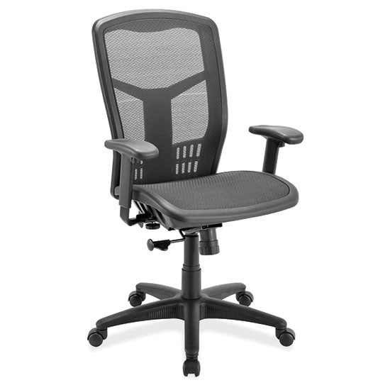 Swivel Tilt, High Back Chair with Black Frame - Acorn Office Products