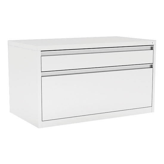 2 Drawer Metal Benching File Cabinet - 30''W - Acorn Office Products - Office Source