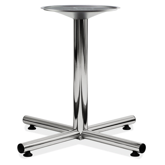 Standard Cross Base - Chrome - Acorn Office Products