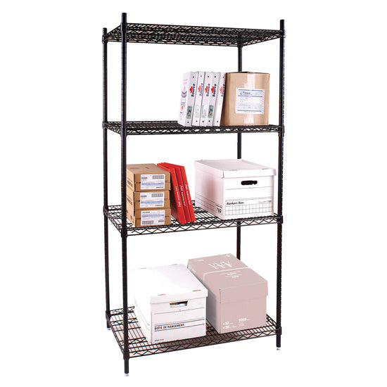 Wire Shelving Unit - Acorn Office Products