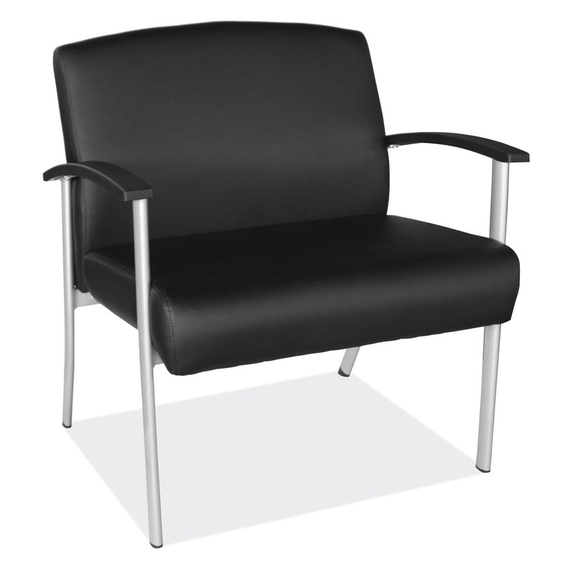 Big and Tall Guest Chair with Black Frame - Acorn Office Products - Office Source