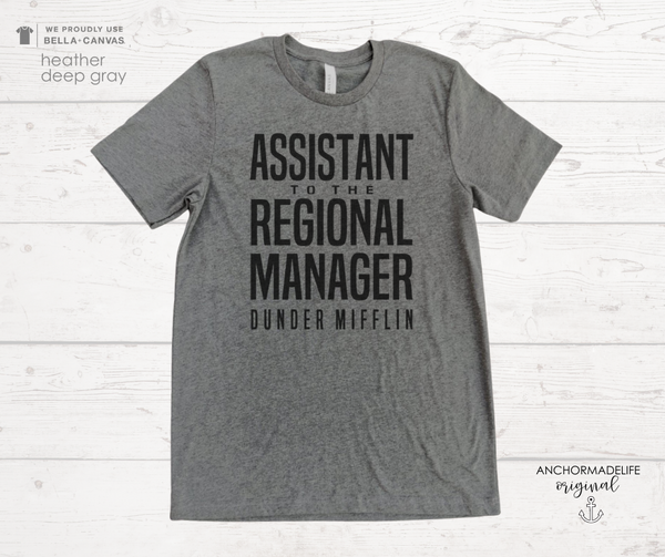 Assistant To The Regional Manager UNISEX Shirt | The Office Shirt