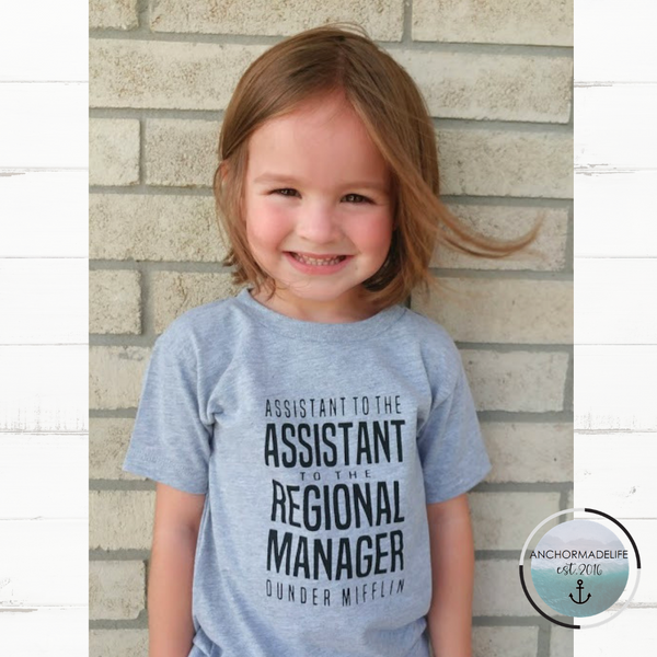 Assistant To The Assistant To The Regional Manager Shirt | The Office Shirt | Matching Family Shirts