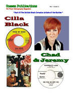 Cilla Black and Chad & Jeremy - U.S. Vinyl Discography Magazine Vol.1 Issue 3