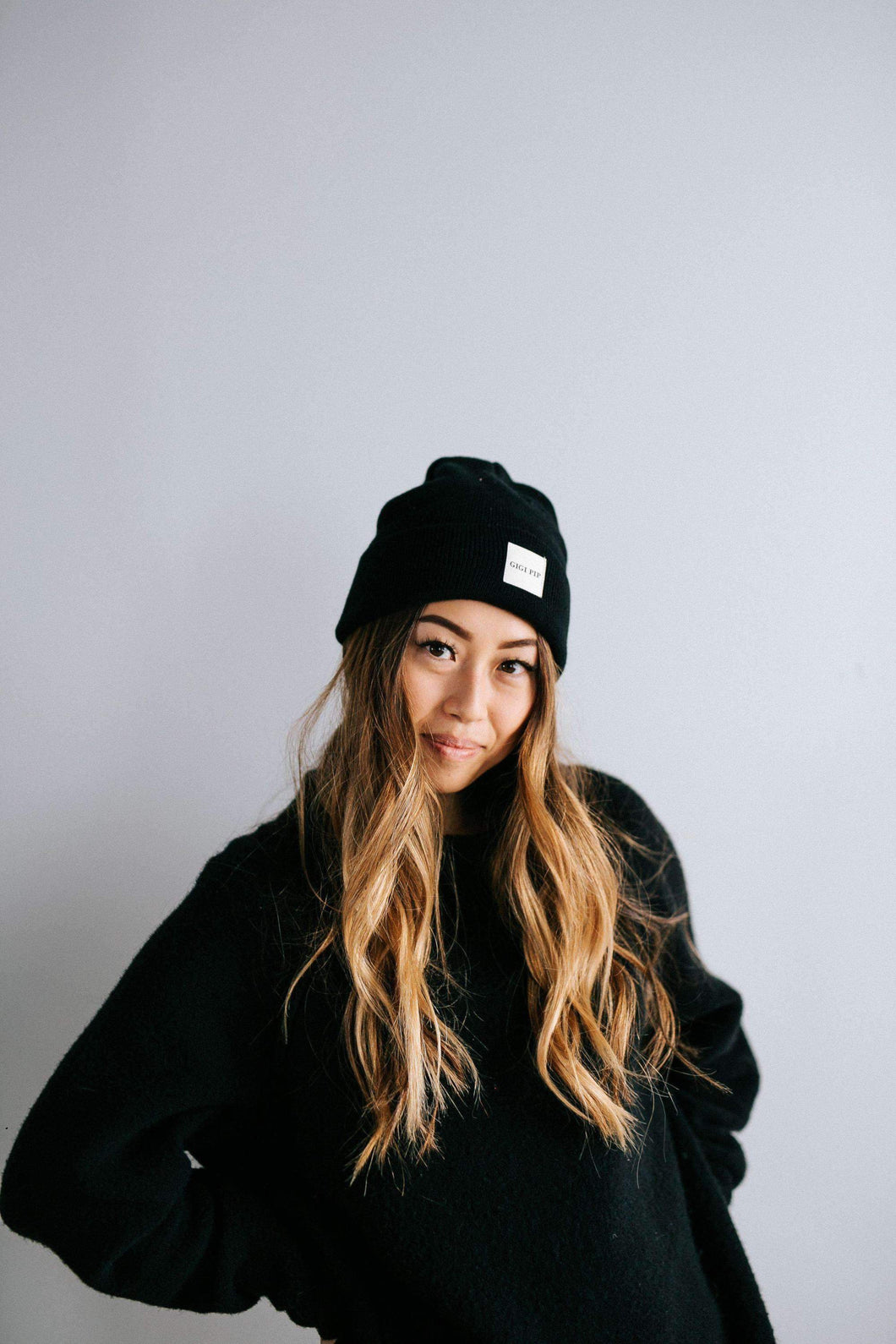 GIGI PIP TOQUE BLACK